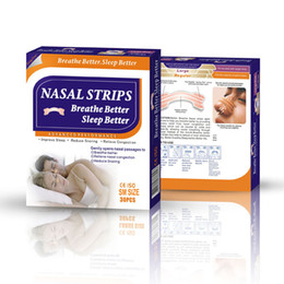 10box=300pcs(55x16mm) fastly relief nasal congestion caused by cold,allergy and rhinitis for using nasal breathing strips