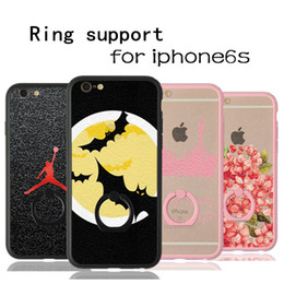 universal phone cases Black ring, mobile phone, lace, iPhone6S mobile phone shell, Superman captain, silicone sleeve cases wholesales