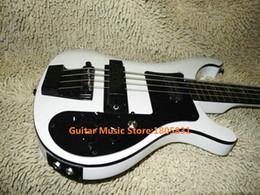 Acheter en ligne Guitares jacks-Grossiste Guitare Basse 4 cordes 4003 Basse électrique Deux entrées stéréo Entrée Black Hardware Livraison gratuite