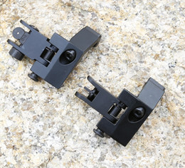 Wholesale AR Front and Rear Flip up Degree Rapid Transition Backup Iron Sight Set