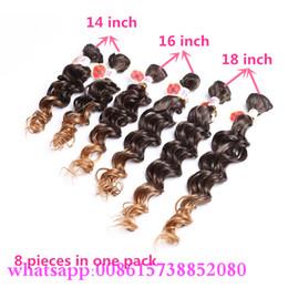 Meilleur produit de vente freetress cheveux crochet Ombre brun kinky bouclé / deep wave cheveux weave coiffure africain cheveux tressage styles curly weaves hairstyles promotion à partir de bouclés tisse coiffures fournisseurs