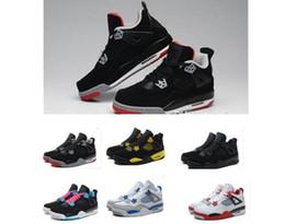 Promotion chaussures de sport pas cher Cheap rétro 4 Chaussures de basket-ball 2017 Nouveau Femmes Hommes Retro Chaussures Sport Sneakers Hommes Retros 4s IIII Homme Zapatillas chaussure de sport d'athlétisme