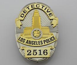 Los Angeles Police Department (LAPD) metal Badge (Replic)- detective