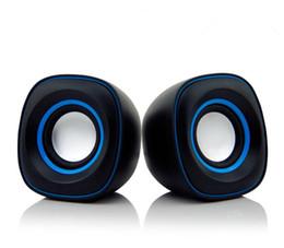 USB2.0 PC Speakers Subwoofer for Desktop Laptop Notebook Tablet Radio Smart Phones T10 Mini Speaker