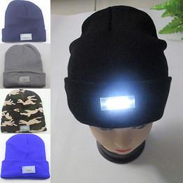 Wholesale Cap Flashlights Wholesale - LED Knit Cap – The Flashlight Equipped Headgear