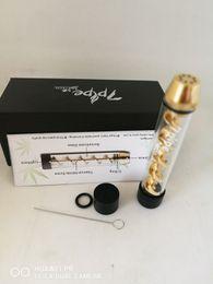 Wholesale En stock más barato Twisty Glass Blunt Segunda edición Hierba seca Pipe molino filtro de sistema herbal Pipe Twist vape pen
