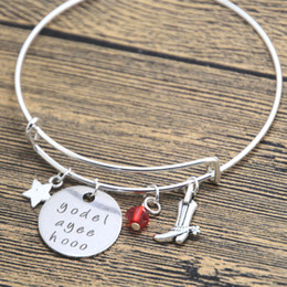 """12pcs lot Toy Movie Inspired bracelet Cowgirl Jessie yodel-ay-ee-hooo"""". crystal, for women or girls bangle"""