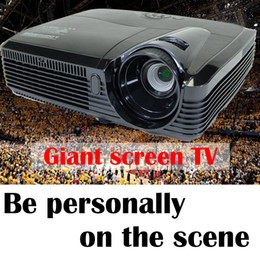 Wholesale Best inch Lumens ultra brightness HDMI VGA DLP D Projector Daylight Outdoor P for Business Advertise Education