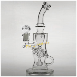 Mothership recycleur à vendre-Mothership Torus Fab Egg FTK Bong en verre Fab Klien Recycler Verre Water Pipe Recycle Oil Rigs Matrix Perc Hookahs 14.4mm Female Joint