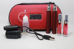Métal cas ecig à vendre-Ego CE4 Kit Électronique Cigarette Starter Kit Ecig E-Cigarette Zipper case 2 Atomiseurs 2 Batterie 650mah 900mah 1100mah DHLFREE