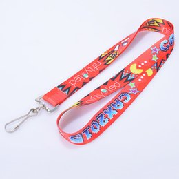 Wholesale Colorful polyester lanyards in shop custom logo accept Lanyards for exhibition promotion