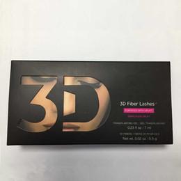 Wholesale 2016 Hot New D FIBER LASHES Plus MASCARA Set Makeup lash eyelash double mascara
