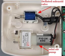 Wholesale DIY Electronic Blood Pressure Monitor Kit Miniature Inflatable Pump Drain Valve Capacitive Pressure Sensor