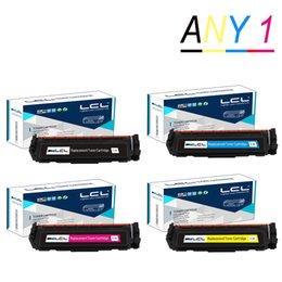 Any 1 LCL 410A CF410A CF411A CF412A CF413A 410 Toner Cartridge Compatible for HP Color LaserJet Pro M452dn M477fdw M477fnw