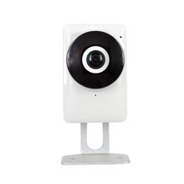 EC network panoramic smart home security ip camera 1.44mm 185 degrees fisheye lens indoor camera