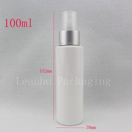 100ml plastic spray white bottle cosmetic travel container mist spray, Fine sprayer plastic bottles perfume travel liquid bottle