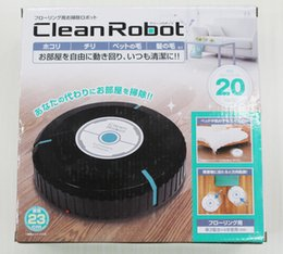 Wholesale 2017 news Random Smart Cleaner Robot Mop Automatic Dust Cleaner AUTO CLEANER ROBOT Japan sweeping robot toy automatic sweep lazy supplies