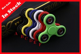2017 EDC Fidget Spinner toy finger spinner toy Hand tri spinner HandSpinner EDC Toy For Decompression High Quality In Stock Free Shipping