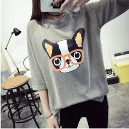 Summer sleeves t-shirt women's loose clothes Korean students wild spring long sleeves summer shirt compassionate
