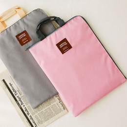 Wholesale quot quot quot quot Universal Portable Laptop Bag Zipper Tablet PC Hand Bag Light File Bag Netbook Protect Sleeve