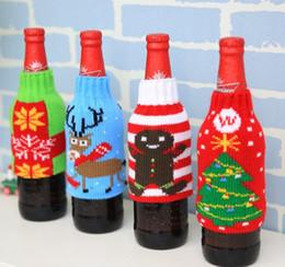 Beer bottle sets Bottle Cover Bag Christmas Wine Bags Wine Cover Christmas Ornaments Christmas Gift Bag