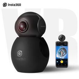 Wholesale Insta360 Air Pocket Mini Panoramic Camera Degree K HD Dual Wide Angle Fish Eye Lens VR Mode D4514 D4513