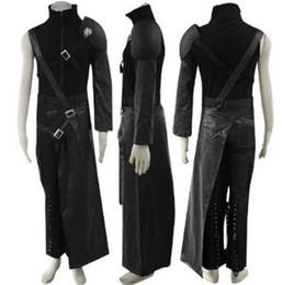 Final Fantasy VII Cloud Cosplay Costume Zaxs includes 5 accessories