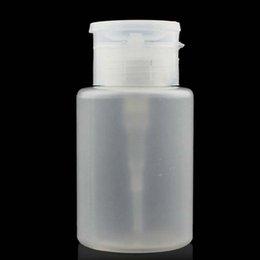 Wholesale Lades Supplies Empty Bottle Wash Remover Cleanser Bottle Pump Dispenser White ML Bottle Hot selling L China Supplier