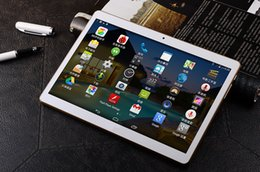 Pouces 1gb à vendre-10 pouces Tablette, Android 4.4, MT6582 Quad Core IPS écran 1280 x 800 1G + 16 Go de stockage, 3G Téléphone, double carte SIM, tablettes Android wifi