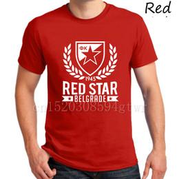 Stella rossa Belgrade Serbia Maglietta rossa casa Camiseta Crvena Zvezda club Marko Petkovic dragan stojkovic T-Shirt Miodrag Bozovic