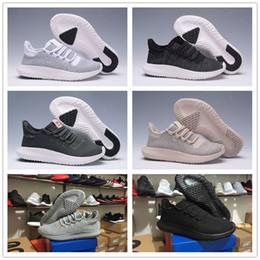 Wholesale 2017 Con caja caja original Tubular Shadow Knit Running Shoes para hombres y mujeres Tubular Shadow D Zapatillas deportivas zapatos Boosts aumentar