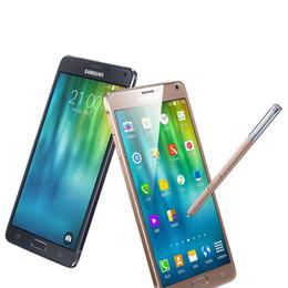 Original Samsung Galaxy NOTE 4 SM-N910P Mobile Phones 5.7Inch IPS Screen 3G RAM 32G ROM Factory Unlocked Sprint