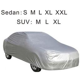 Wholesale Universal full Car Covers sizes for SUV sedan Indoor Outdoor Sunshade Heat snow Protection Waterproof Dustproof Anti UV Scratch Resistant