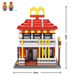 McDonald LOZ Nanoblock Building Block Toy bricks kit assemble model DIY creative gift minifigure for kid