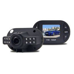 "Cámaras de lentes de porcelana en Línea-De buena calidad Novatek Chip C600 1.5 ""LCD Car Dvr Gran Angular Lente FULL HD 1080P Vehículo Negro Caja DVR Cámara Video Recorder"
