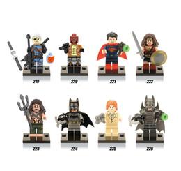 Batman v Superman: Dawn of Justice 480pcs lot mini building blocks figures Super Heroes Avengers Children kids Toys Bricks X0108