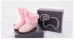Wholesale DUEPLAY X Everugg UGS Women Australian Winter Snow Boots UG Shoes Sheepskin Plush zapatos mujer Fur Warm waterproof snow boots women