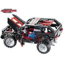 Wholesale Models Building Toy Blocks Decool Transport Cruiser SUV Racing Car Model Building Block Sets Educational DIY Bricks Toys