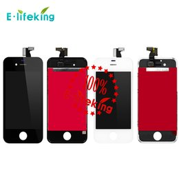 Wholesale Good quality LCD Display Touch Digitizer Complete Screen with Frame Full Assembly Replacement for iPhone s With Free DHL FedexShipping