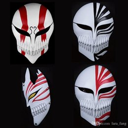 2017 new bleach pvc kurosaki ichigo movie props anime cosplay japanese collections ghost horror scary masks halloween