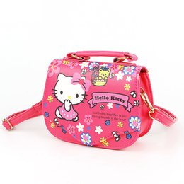 New Brand Children baby girls cute hello kitty handbag Kids Cartoon crossbody bags Kindergarten girls shoulder bags