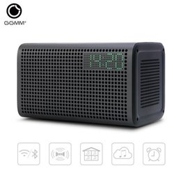 Wholesale GGMM E3 WiFi Wireless Bluetooth Speaker Audio Music Home Theatre Stereo System Computer Speakers with LED Alarm Loudspeakers