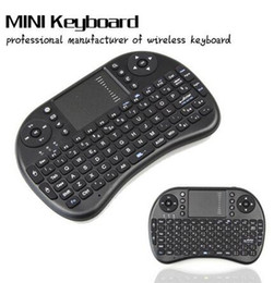 Wholesale High quality I8 Fly Air Mouse G Mini Wireless Keyboard game Mouse for computer tv box with retail box rechargable lithium battery
