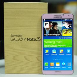 Refurbished Samsung Galaxy Note 3 Moblie Phone N900A N900T N900P N900V N9005 N9006 5.7 inch Quad Core 4G LTE Phone Original LCD