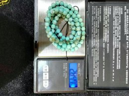 Wholesale Old and natural turquoise triclinic crystal system bracelets beads and beautify the necklace for men and women