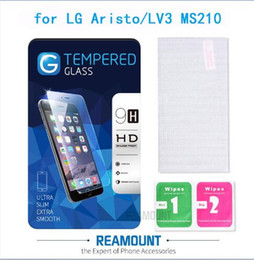 Wholesale Toughened Glass Film For LG Aristo Ultra Slim 0.3mm Full Cover Surface Tempered Glass Screen Protector