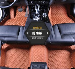 Wholesale 5D Diamond shaped designed Waterproof Leather XPE Car Floor Mats for Bentley GT