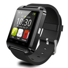 Nouvelle u8 bluetooth montre-bracelet à puce en Ligne-NOUVEAU Bluetooth Smartwatch U8 U Montre Montres Smart Watch pour iPhone 4 4S 5 5S Samsung S4 S5 Note 2 Note 3 HTC Téléphone Android Smartphoto