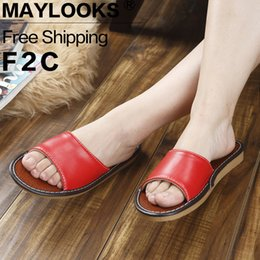 2017 Summer Women's Slippers Casual Slides PU Leather Sandals Flat Sandals Flip Flops Open Toe Ladies Beach Shoes for Girls