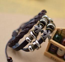 Кожаные браслеты церковные